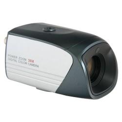 Caméra boîtier intérieure avec zoom