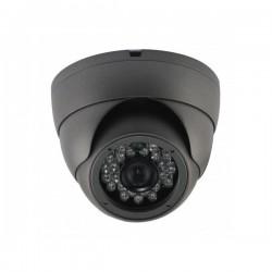 Caméra mini-dôme noire(800 lignes)