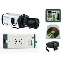 Caméra IP infrarouge avec Carte SD