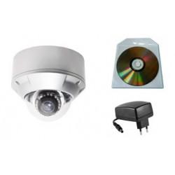 Caméra IP 2 Mégapixels Filtre Infrarouge