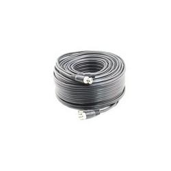 Câble Dual HD Noir 50 mètres