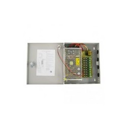 Armoire d'alimentation 12 volts - 8 sorties