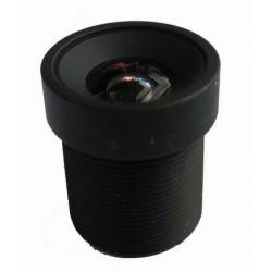 Objectif 1.6 mm avec angle de vision de 107.1°