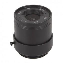 Objectif 6 mm avec angle de vision : 48.1°