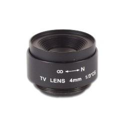 Objectif 4 mm (70.6°)
