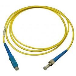 Câble fibre optique - Connecteurs SC & ST