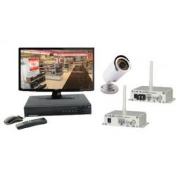 Kit vidéosurveillance sans fil - 1 caméra transmission 100m (800 lignes)