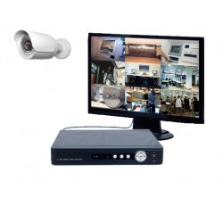 Kit vidéosurveillance - 1 caméra IP IR 20 mètres